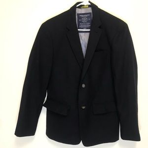 American Eagle Outfitters Navy Wool Blend Blazer